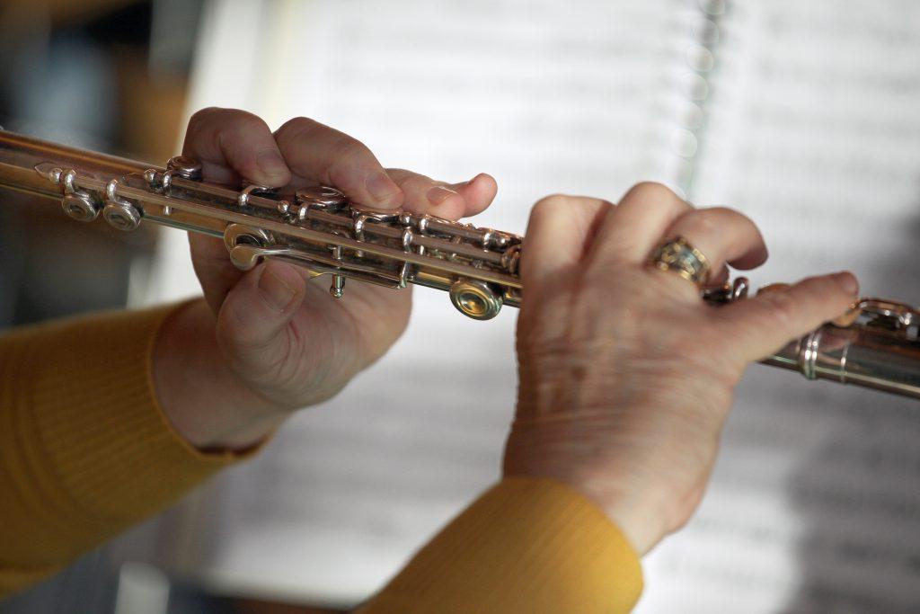 Dwarsfluit in het orkest