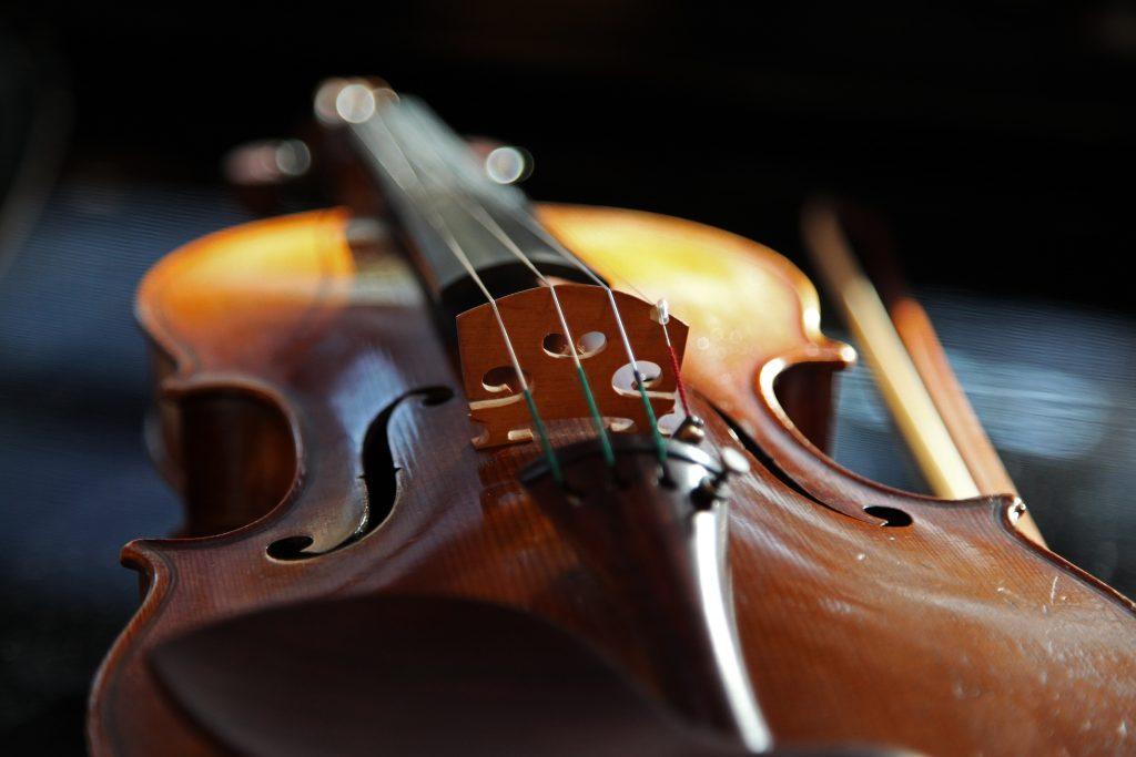 Viool in het orkest