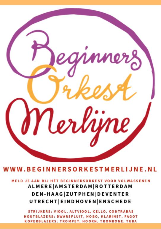 Beginnersorkest in steden van Nederland