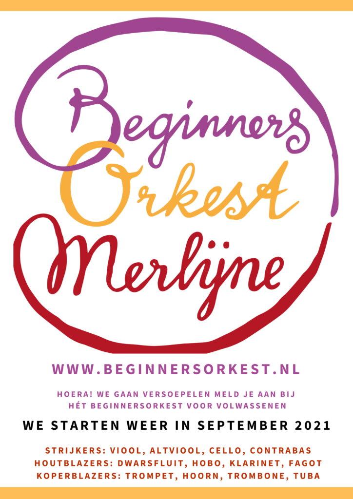 Beginnersorkest start in september 201